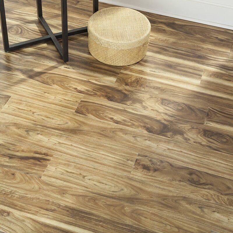 8 X 48 3mm Pearwood Laminate Flooring In Embossed