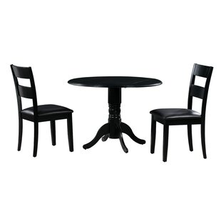Payton 3 Piece Drop Leaf Solid Wood Dining Set