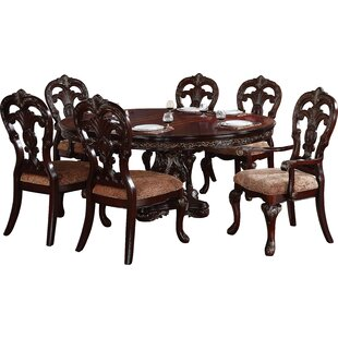 Chalus 7 Piece Extendable Dining Set