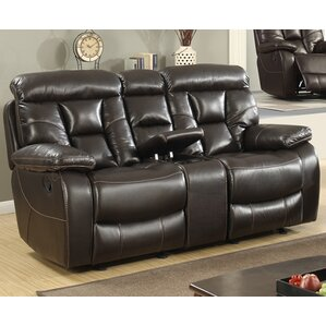 Recliner Leather Reclining Loveseat by Best ..
