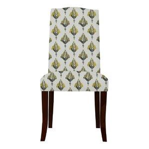 Guttenberg Ferns Parsons Chair (Set of 2) by Latitude Run