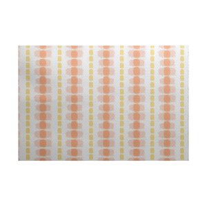 Leal Yellow/Orange Indoor/Outdoor Area Rug
