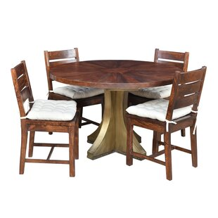 Valerie 5 Piece Solid Wood Dining Set