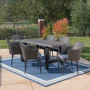 Mobilier bistro de jardin: Matériau du plateau de table - Béton ...