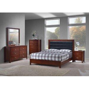 6 piece bedroom set. Vandermark Panel 6 Piece Bedroom Set Queen  Wayfair
