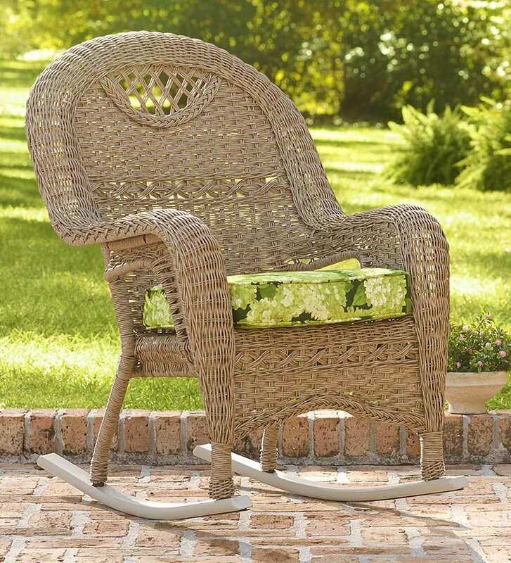 Prospect Hill Outdoor Wicker Rocking Chair