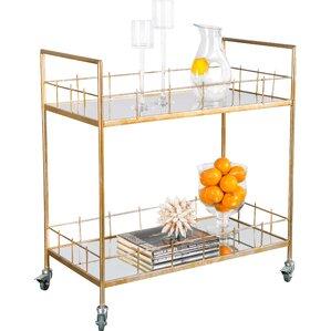 Rebeccah Bar Cart by Everly Quinn
