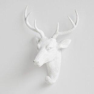 Resin Deer Head Wall Hook