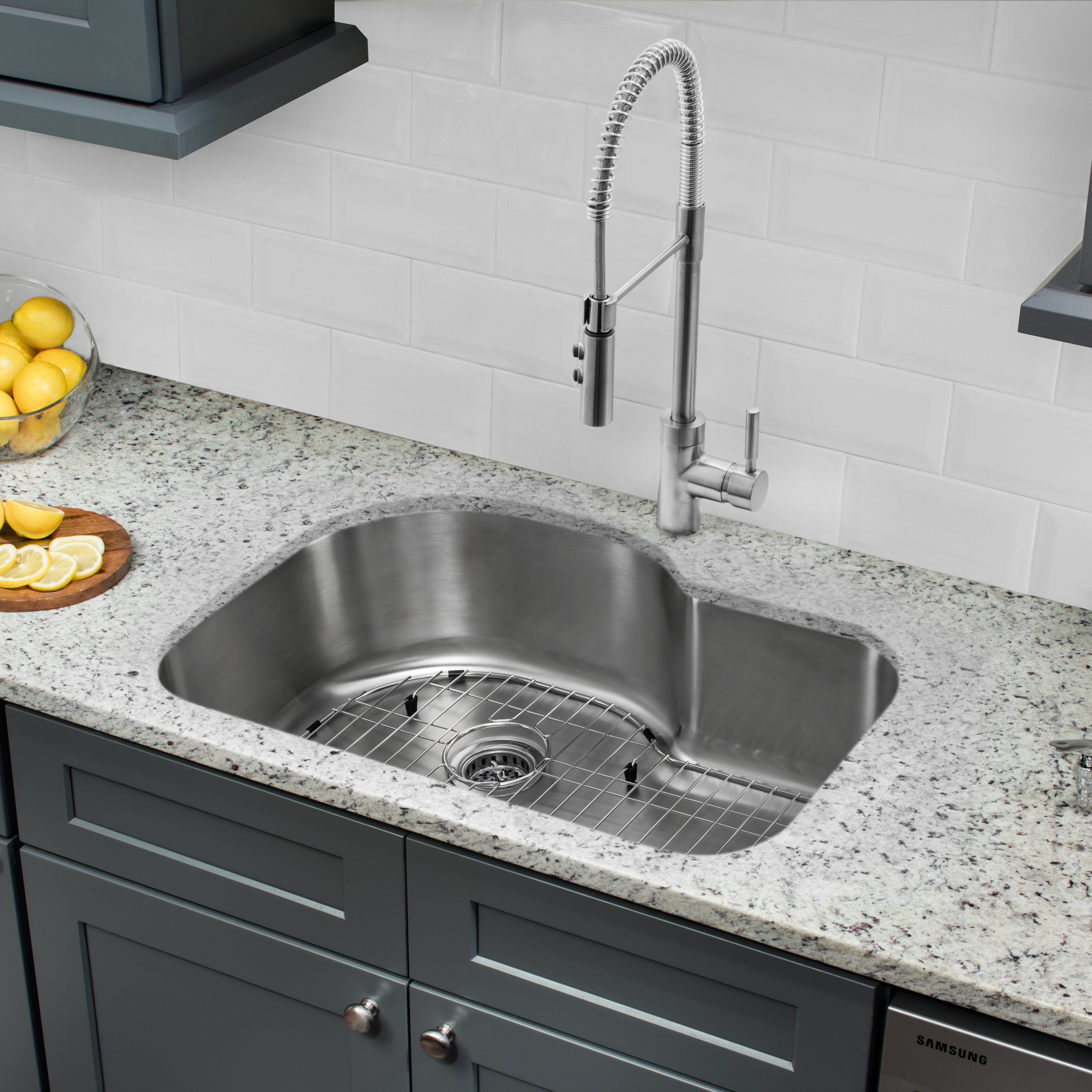 sprayer sink with sinks hole idea for cheap ridge your inexpensive best faucets bathroom faucet costco and under kitchen gooseneck water
