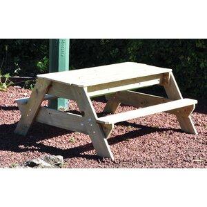 Kinder-Picknicktisch und Sandgruben-Set von Kingfisher