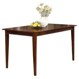 Boulder Creek Wood Solid Wood Dining Table