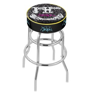 Jimi Hendrix 30 Swivel Bar Stool