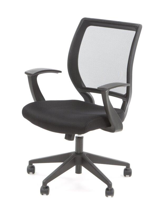 work smart midback mesh desk chair
