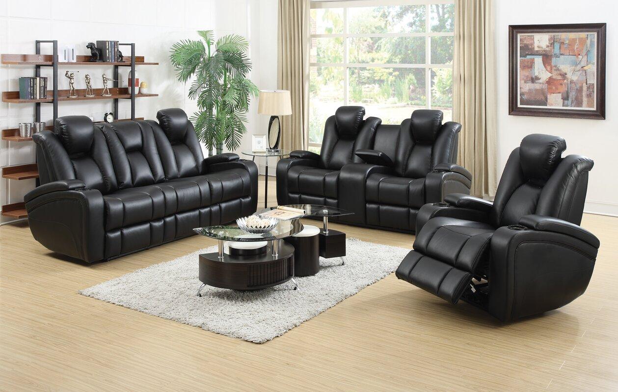 bissette reclining sofa