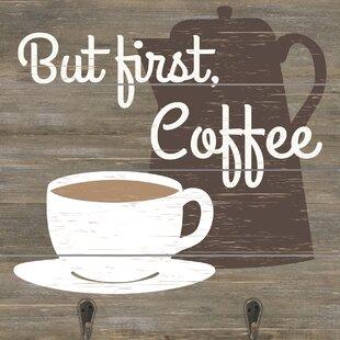 Attirant But First Coffee Wall Decor