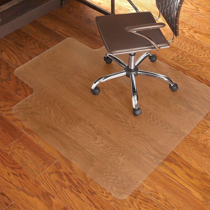 Charming EverLife Hard Floor Office Chair Mat