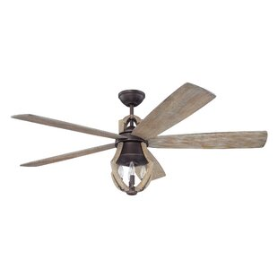 Farmhouse rustic ceiling fans birch lane 56 marcoux 5 blade ceiling fan with remotes aloadofball Choice Image