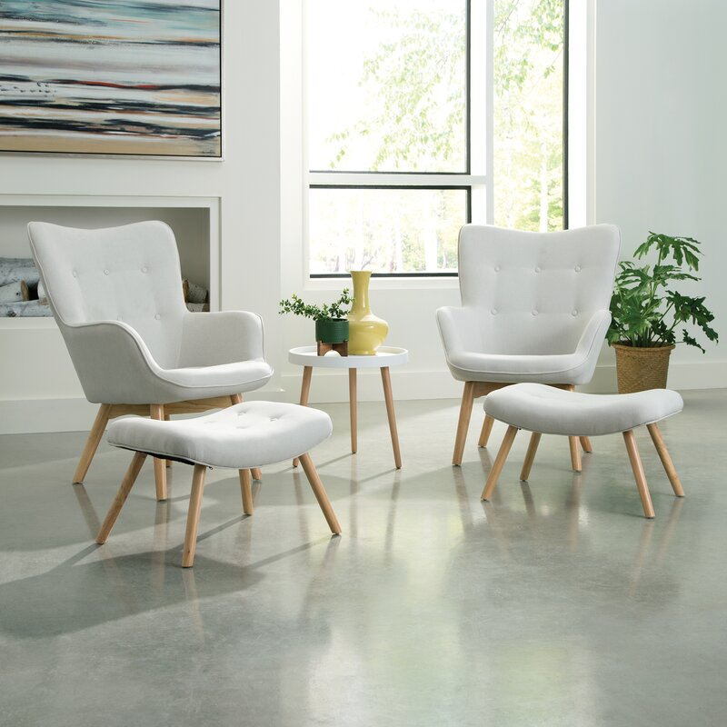 Tremendous Bello Mid Century Modern Lounge Chair And Ottoman Caraccident5 Cool Chair Designs And Ideas Caraccident5Info
