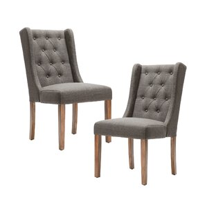 Maxwell Upholstered Dining Chair (Set of 2) by Darby Home Co