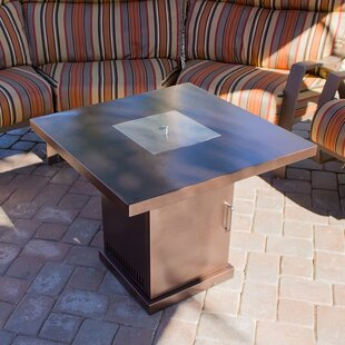 Conventional Steel Propane Fire Pit Table