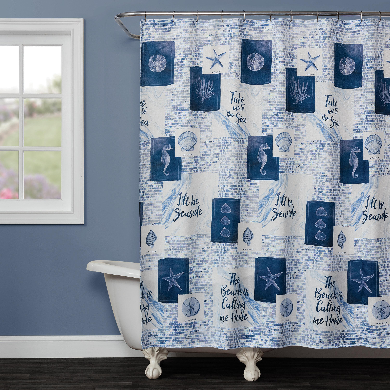 Highland Dunes Rumi Fabric Shower Curtain | Wayfair
