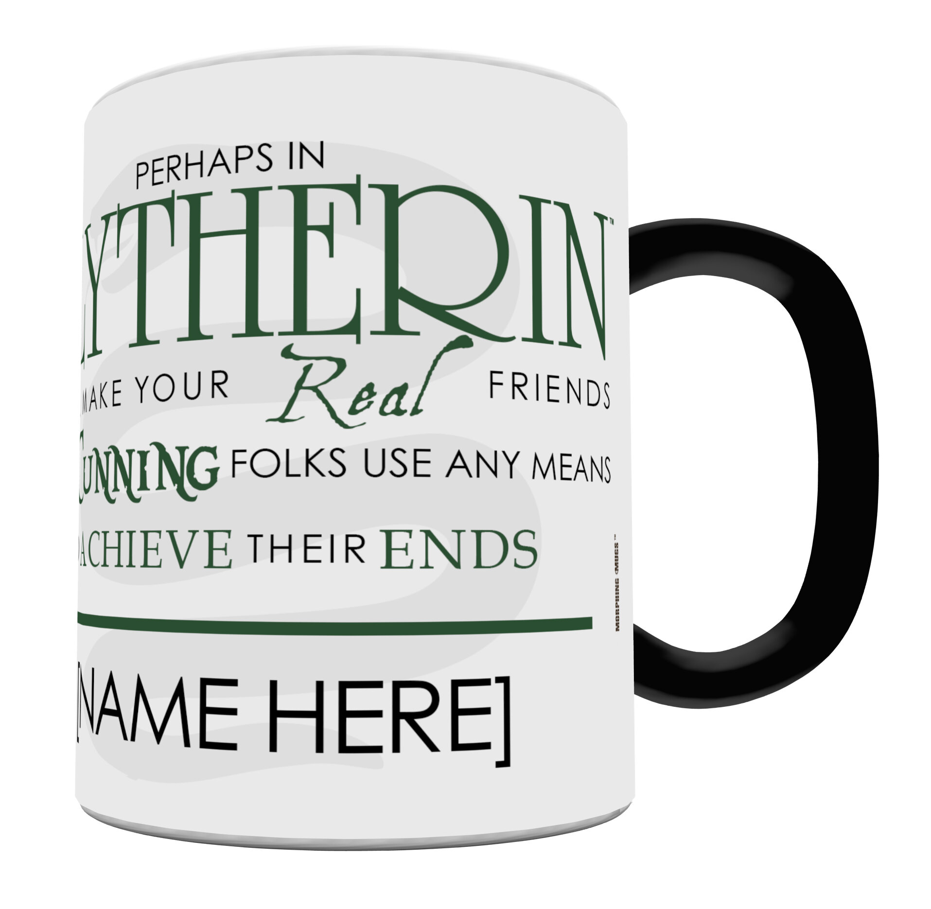 Morphing Mugs Harry Potter Sorting Hat Slytherin Personalized Heat Sensitive Coffee Mug Reviews Wayfair