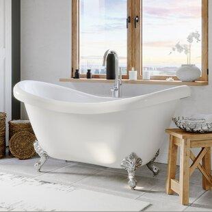 72 Inch Clawfoot Tub Wayfair