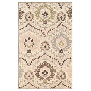 Jenn Ivory/Green Area Rug