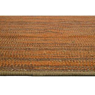Handmade Kilim Orange Rug by Bakero