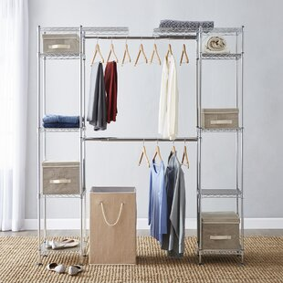 Hanger Rod Closet Storage Organization Wayfair
