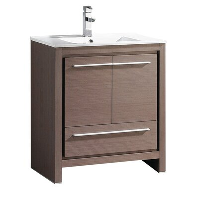 "30 Bathroom Vanity Set By Legion Furniture legion furniture 31"" sink vanity set with mirror and side cabinet"
