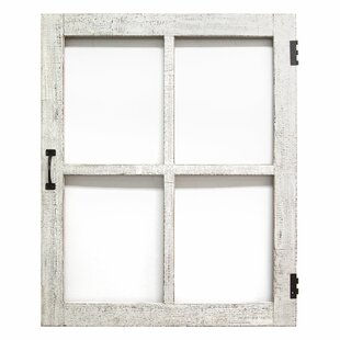 rustic window pane wayfair