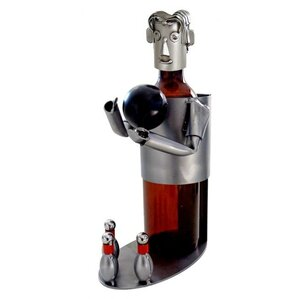 Bowler 1 Bottle Tabletop Wine Rack by H &..