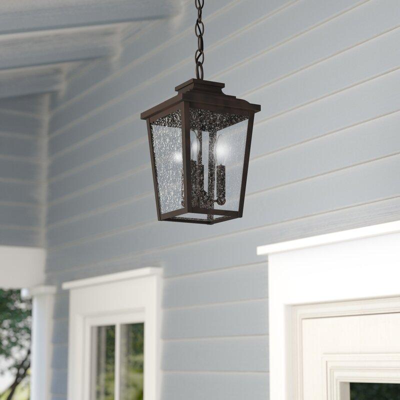 Mayhugh 3 Light Outdoor Hanging Lantern