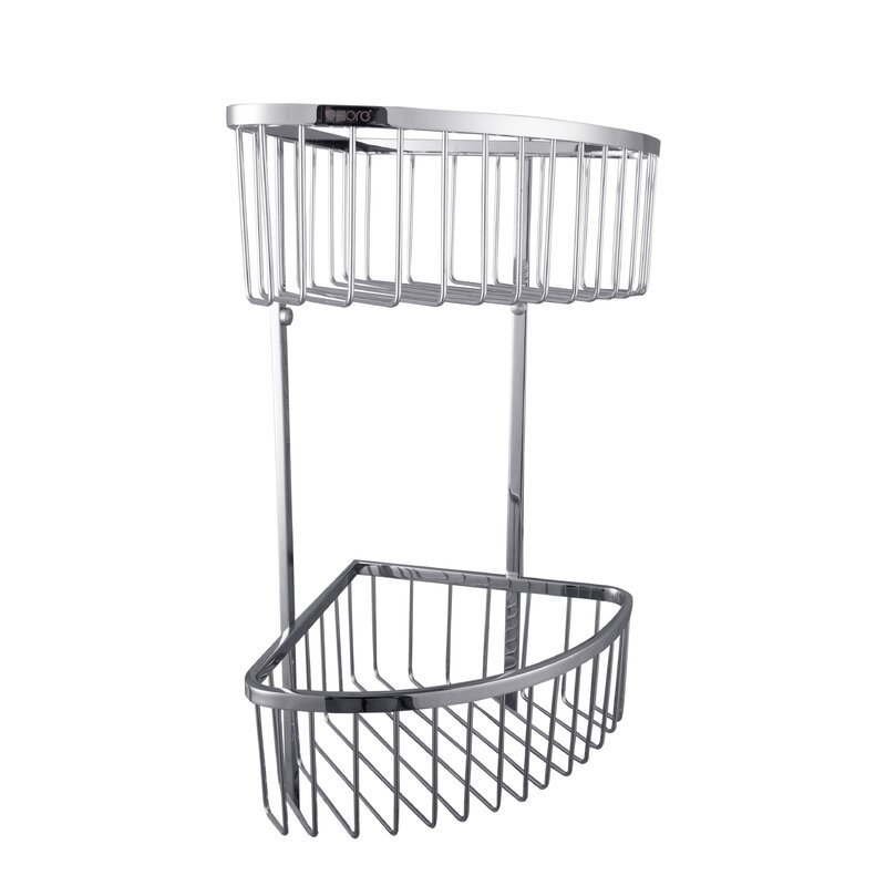 UCore Wall Mount Double Corner Shower Caddy | Wayfair