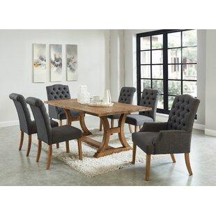 Grider 7 Piece Solid Wood Dining Set