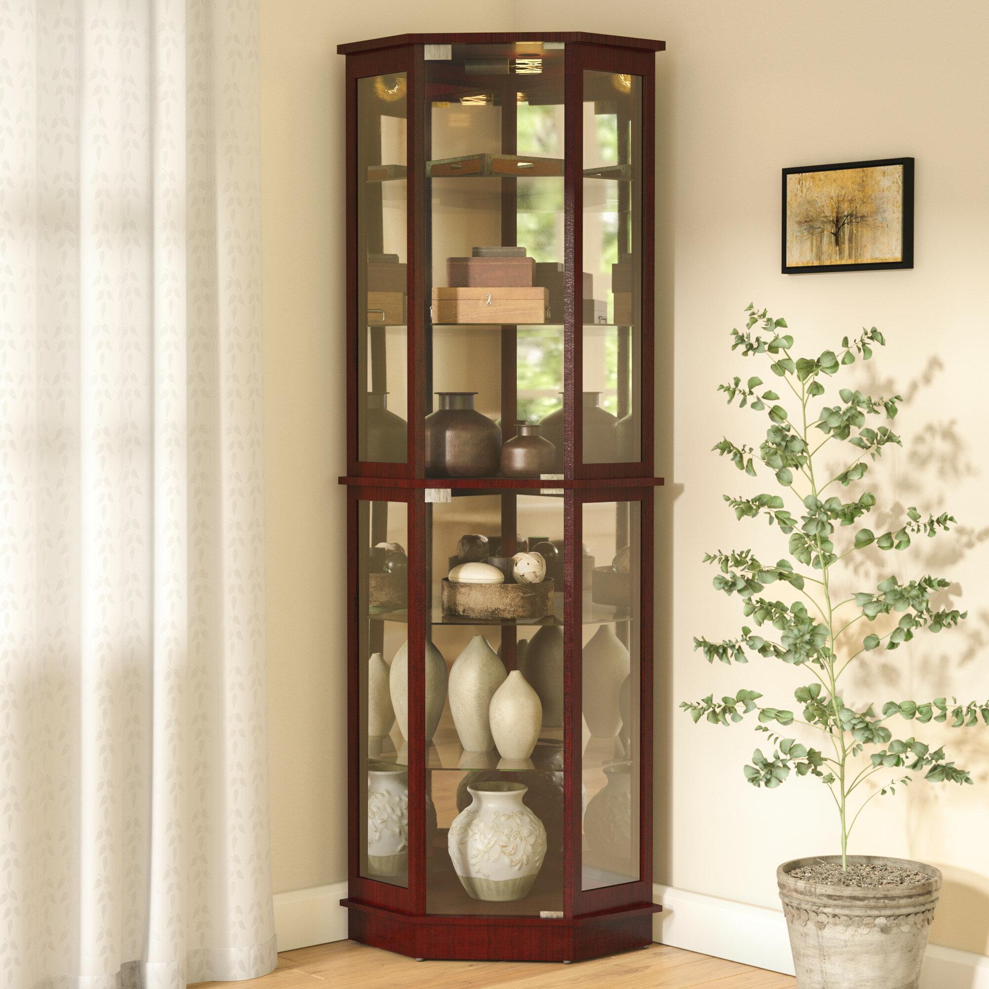 Excellent Display Cabinets Youll Love In 2019 Wayfair Complete Home Design Collection Epsylindsey Bellcom