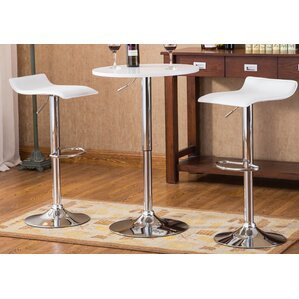 Baxton 3 Piece Pub Table Set by Roundhill..