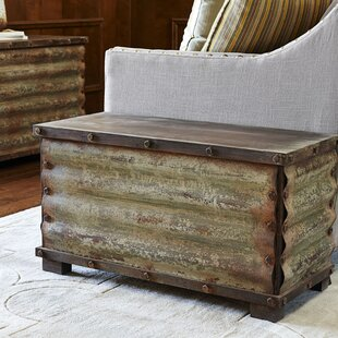 Charming Carbondale Corrugated Coffee Table Trunk