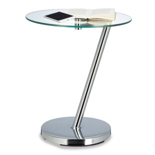 Brushed Steel Side Table | Wayfair.co.uk