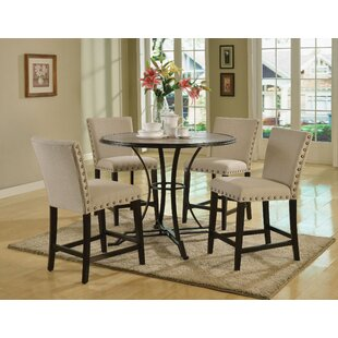 Garvin 5 Piece Counter Height Dining Set