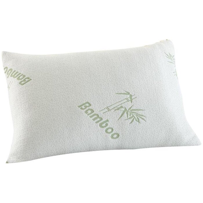 sweet and carry hypoallergenic sale bamboo rayon collection product bag foam ihome memory pillow home