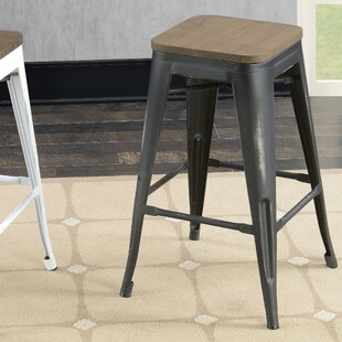 Gillespie Industrial 26 Bar Stool (Set of 2)