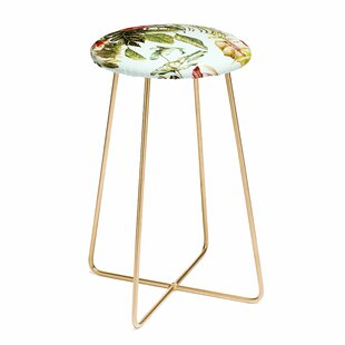 Marta Barragan Camarasa Botanical Jungle Bouquets I 30 Bar Stool