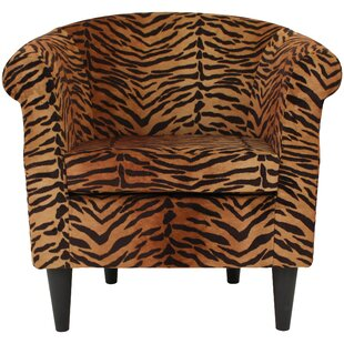Etonnant Ronda Contemporary Barrel Chair