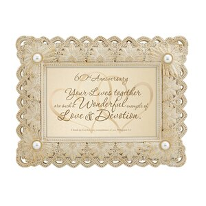 60th Anniversary-Philippians Picture Frame
