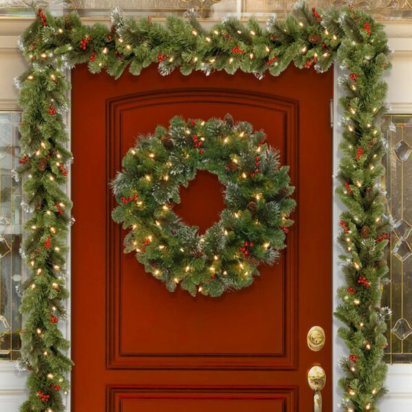 Christmas Wreaths And Christmas Garlands You Ll Love Wayfair