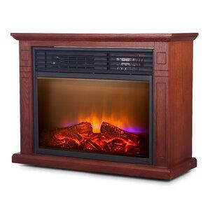 Quartz Mobile Electric Fireplace