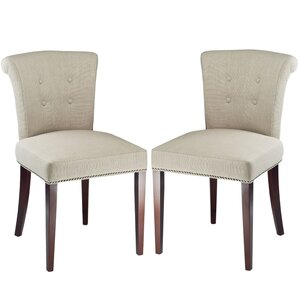 Dyer Side Chair in Sand (Set of 2) (Set o..