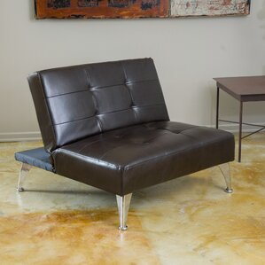 lewis clickclack oversized convertible chair